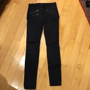 Joe's Jeans Sz 24 Navy/Black Skinny Pants